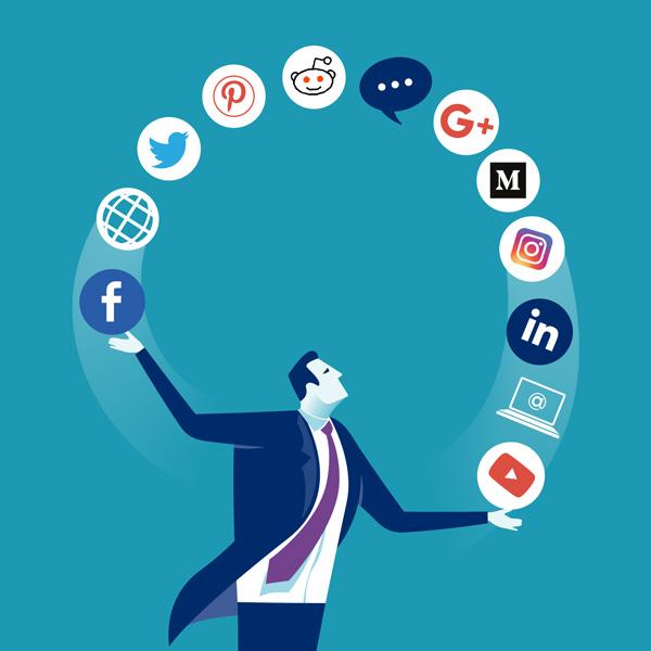 محتوا برای شبکه های اجتماعی
