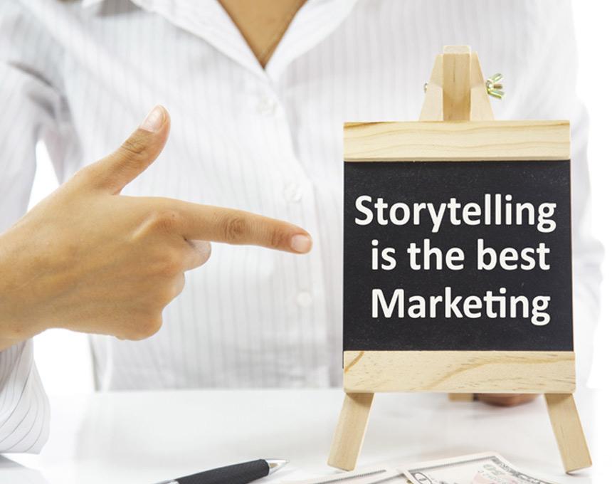 داستانی سرایی بازاریابی